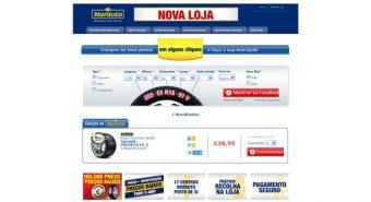 Norauto. Disponibiliza novo site de venda online de pneus