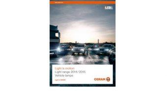 Osram. Apresenta o mais recente catálogo de lâmpadas automóvel