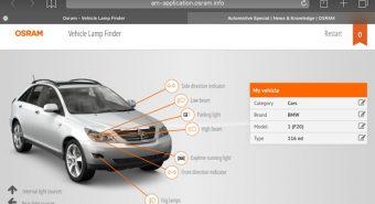 Osram – Renovado localizador online de lâmpadas