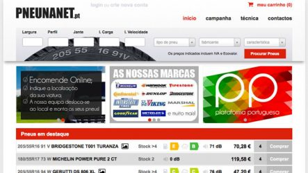 Pneunanet. Inova na comercialização de pneus online