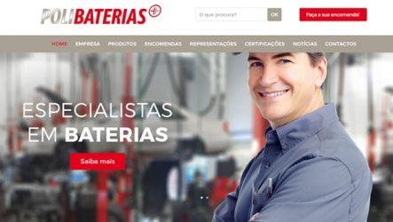Polibaterias. Novo site