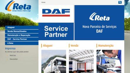 RETA. Lança campanha em peças originais DAF