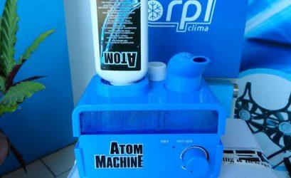 RPL Clima. Disponibiliza nebulizador ultra-sónico