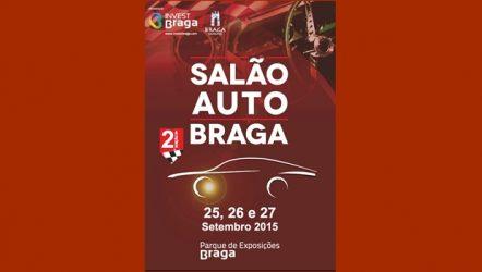 Salão Auto Braga. Novo evento auto e peças em setembro
