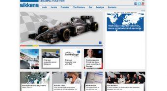 Akzo Nobel. Novos websites Sikkens, também para Portugal