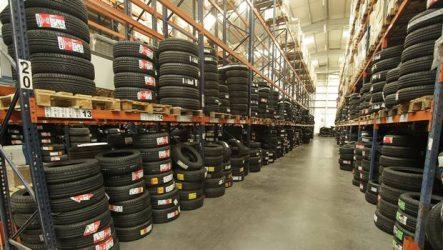 Tiresur. Entrega pneus quatro vezes por dia