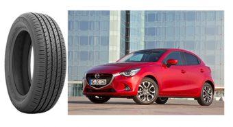 Toyo. Equipamento original para o Mazda2