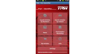TRW. Catálogo disponível em Android