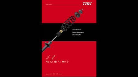 TRW. Dois novos catálogos de amortecedores (ligeiros e pesados)