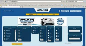 Tenneco. Novo catálogo eletrónico Walker e Fonos